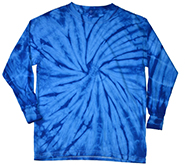Wholesale Clothing - Long Sleeve Tie Dye T Shirts, Apparel, Wholesale, Bulk, Supplier - SPIDER ROYAL