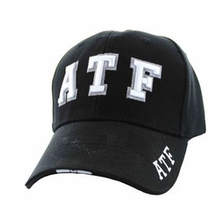 Wholesale Products - Baseball Cap ATF Velcro Cap (Solid Black) - VM036