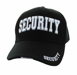 Wholesale Clothing, Baseball Cap Security Velcro Cap (Solid Black) - VM036