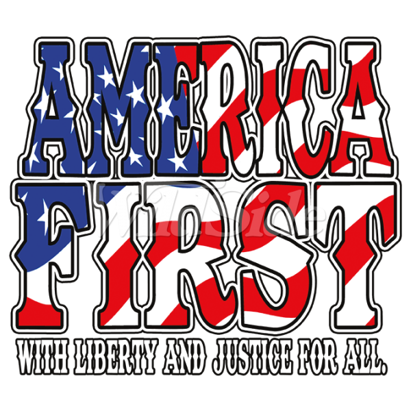 Fashion Patriotic America First Clothing For Men, Wholesale