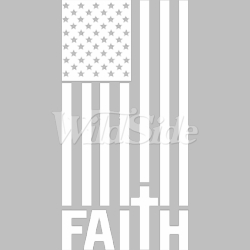T Shirts Hats Wholesale Bulk Supplier Clothing Apparel Patriotic - Faith - 20103