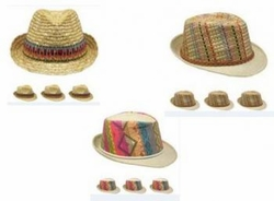 Wholesale Convenience Store Supplies - FEDORA HAT-ASST