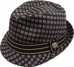 Wholesale Suppliers Wholesalers, Products - Fedora Hats, Wholesale Hats - SF-255 Metal Band Fedora