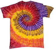 Gildan Tie Dye T Shirts Clothing Wholesale Bulk Short Sleeve Gildan - FESTIVAL