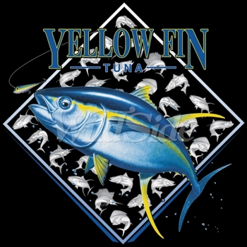 T Shirts Wholesale Bulk Fishing - Yellow Fin - MSC Distributors