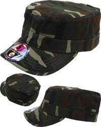 Wholesale Suppliers Wholesalers, Products - Military Army Style Hats | Wholesale Caps & Hats - BC-108 Castro Fitted