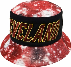 Wholesale Suppliers Wholesalers, Products - Bucket Fishing, Hats, Men's Wholesale Caps Hats, Fedora, Military - FB-245 Cleveland Galaxy Bucket