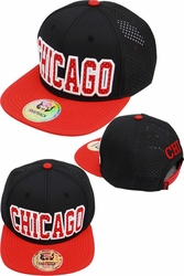Wholesale Suppliers Wholesalers, Products - Flex fit Caps Hats, Men's Wholesale Caps Hats, Fedora, Military - FS-418 Chicago Punching Snapback