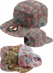 Wholesale Suppliers Wholesalers, Products - Men's Wholesale Caps Hats, Fedora, Military - FST-005 5 Panel Leather Strap