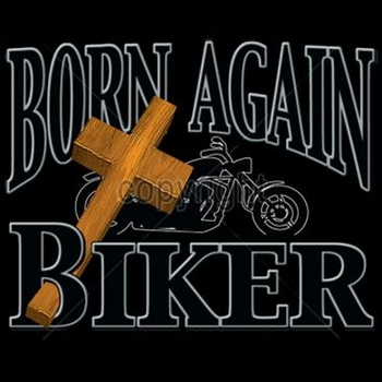 Wholesale Born Again Christian Biker T Shirts - Motorcycle T Shirts - MSC Distributors