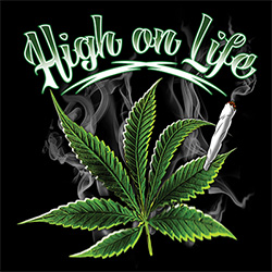 Funny, Weed, Party, High, Smoke, Marijuana T-Shirts - 20840D2-1