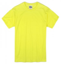 Gildan Blank Safety Green Apparel Short Sleeve T-shirts Wholesale Suppliers Bulk - MSC Distributors