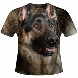 Wholesale German Shepherd T Shirts Online at Cheap Price, Discount German Shepherd T Shirts - 11085-7827