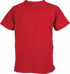 Wholesale Clothing, Gildan Adult Short Sleeve T-Shirts Cotton Men's Clothing - Cherry Red