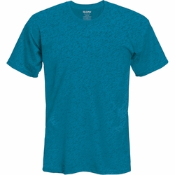 Wholesale Clothing, Gildan Men's Classic Ultra Cotton Short Sleeve T-Shirt Clothing - Heather Sapphire