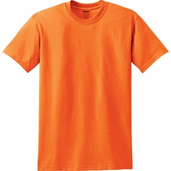 T Shirts Wholesale Bulk Supplier Gildan Blank - Safety Orange