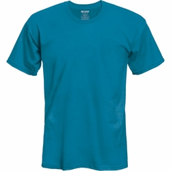 Short Sleeve T Shirts Men's Women's Clothing - Gildan Blank - Sapphire