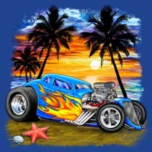 Wholesale Products - Hot Rod Classic Car Graphic T-Shirts, Women's T-shirts, Polo Shirts, Hoodies, Wholesale Prices - 21199n