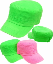 Wholesale Clothing, Products Resale Online - Blank hats, Beanies, Trucker Hats, Snapback Hats and more, Wholesale Prices - BC-096 Elastic Castro Neon