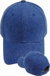 Wholesale Suppliers Wholesalers, Products - Men's Wholesale Caps Hats, Fedora, Military - BP-027 Blue Denim