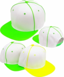 Wholesale Suppliers Wholesalers, Products - Snapback Hats & Hats | Wholesale Caps & Hats - FS-142 Neon PU Leather Snapback