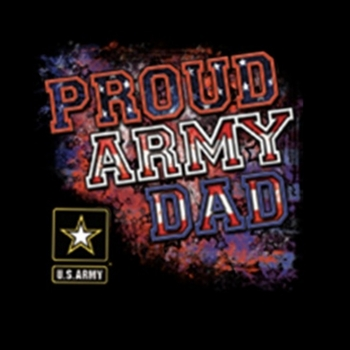 Heat Transfers - Bulk Wholesale T-Shirts - Proud Army Dad a10227c