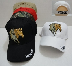Horse, Equestrian, Hats and Caps Cheap Wholesale Online Drop Shipping - MSC Distributors - HT693. Two Horses Hat