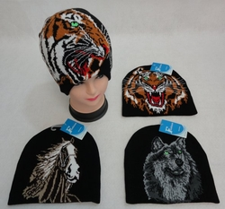 Horse, Equestrian, Hats and Caps Cheap Wholesale Online Drop Shipping - MSC Distributors - WN845. .Knitted Beanie