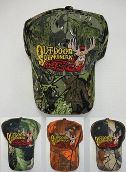 Wholesale Apparel Bulk Cheap Discount Baseball Caps T Shirts Clothing - Wholesale Bulk - HT123. Camo Outdoor Sportsman Hat-Deer