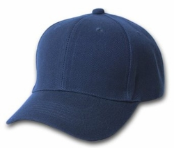 Wholesale Resale Products -  Blank  Hats Caps Suppliers - HT194. Solid Navy Ball Cap