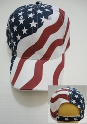 Hats Bulk Patriotic Wholesale Suppliers - HT196 American Flag Ball Cap