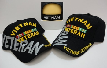 Wholesale Military Offically Licensed Adult Hats and Caps - Vietnam Veteran  MSC Distributors