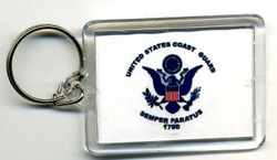 Military, Wholesale, Bulk, Buy, Sell, KC Coast Guard. Military Keychain