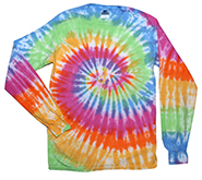 Wholesale Clothing - Long Sleeve Tie Dye T Shirts, Apparel, Wholesale, Bulk, Supplier - ETERNITY
