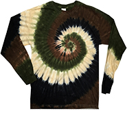 Wholesale Products - Men's Women's Adult Closeout Wholesale Gildan Camo Swirl Long  Sleeve Tie Dye T-Shirts in Bulk, Wholesale Fashion Clothing and Apparel