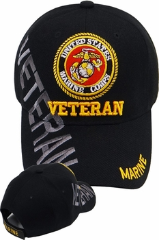 Clothing Apparel T-Shirts Hats Wholesale Bulk US Military - MI-107 Marine Veteran