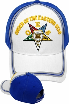 Wholesale Masonic Embroidered Logo Baseball Hats Caps Bulk Prices - ME-177 Eastern Star