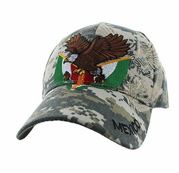 Men's Hats Caps Wholesale Bulk Wholesaler Hat Cap Supplier - VM284-18 Mexico Baseball Velcro Cap (Solid Digital Camo)