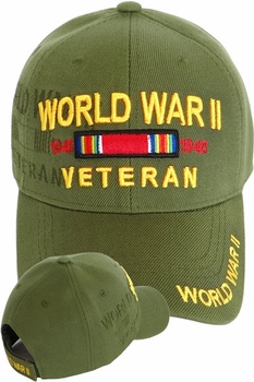 Military Hats - World War Two Hats Olive - MSC Distributors