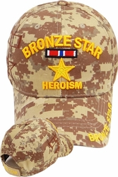 Wholesale Military Hats - Buy Cheap Military Hats in Bulk - MI-411 Bronze Star