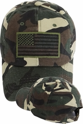 Wholesale Suppliers Wholesalers, Products - Military Army Style Hats | Wholesale Caps & Hats - MI-025 US Flag Cotton