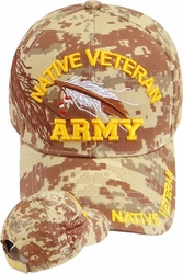 Wholesale Suppliers Wholesalers, Products - Military Army Style Hats | Wholesale Caps & Hats - MI-499 Native Army