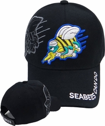 Wholesale Licensed US Military Hats Caps - MI-433 Seabees