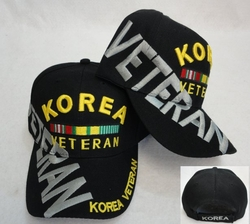 Wholesale Military Officially Licensed Adult Hats and Caps  - Korea Veteran -  MSC Distributors