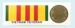 Military Bumper Stickers Wholesale Bulk Suppliers - BDCL Vietnam Vet 1. Military Decal