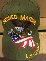 Military Hats Cheap Online Sale At Wholesale Prices - RETIRD MARINE HATS