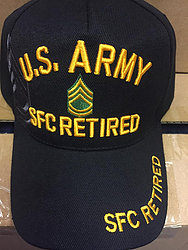 Military Hats Cheap Online Sale At Wholesale Prices - US ARMY RETIRED SFC HATS