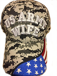 Military Hats Cheap Online Sale At Wholesale Prices - US ARMY WIFE CAMO HATS