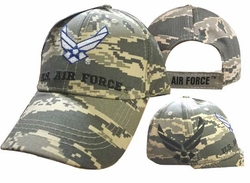 Clothing Caps Hats Wholesale Clothing, Military Hats T Shirts Hats Wholesale Bulk Supplier Clothing Apparel Military - CAP603FC AF Logo Shadow US Air Force Cap Camo