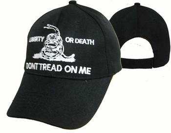 Hats Caps Don't Tread on me Wholesale Bulk Supplier - Gun CAP982A Liberty or Death Cap
